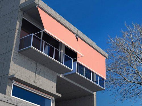 Copertina retractabila balcon