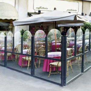 Paravan modular de vant inchidere terase Venezia Elegance