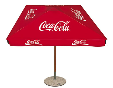Umbrele personalizate Coca Cola