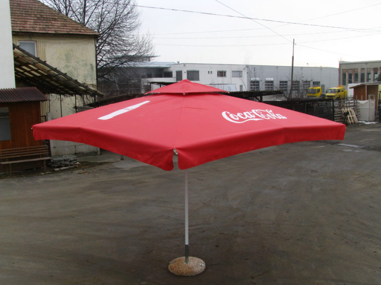 Umbrele Terasa Personalizate Coca Cola