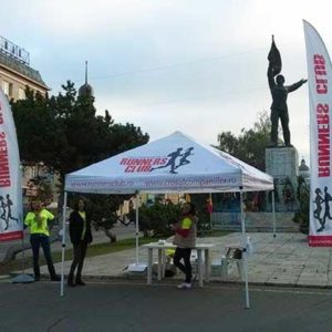 Corturi personalizate Runners Club