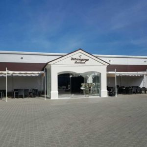 Copertina terasa restaurant