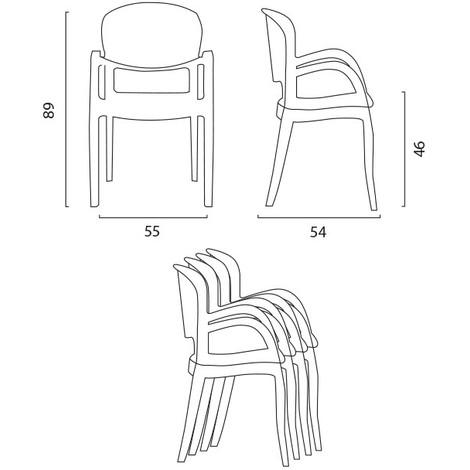 schma scaune terasa transparente
