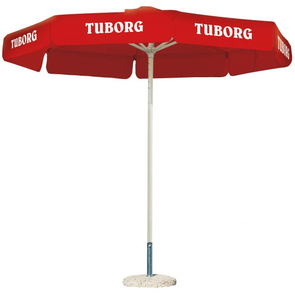 Umbrele personalizate terasa Tuborg