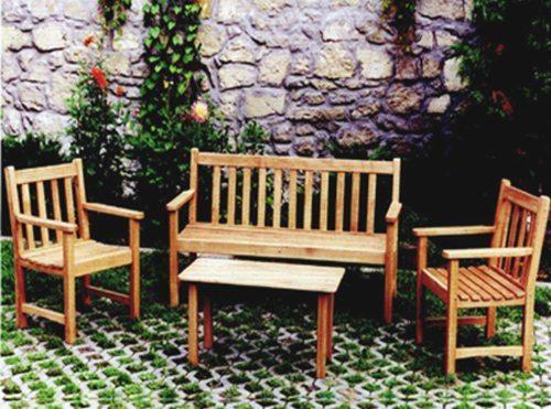 Mobilier de gradina lemn frasin