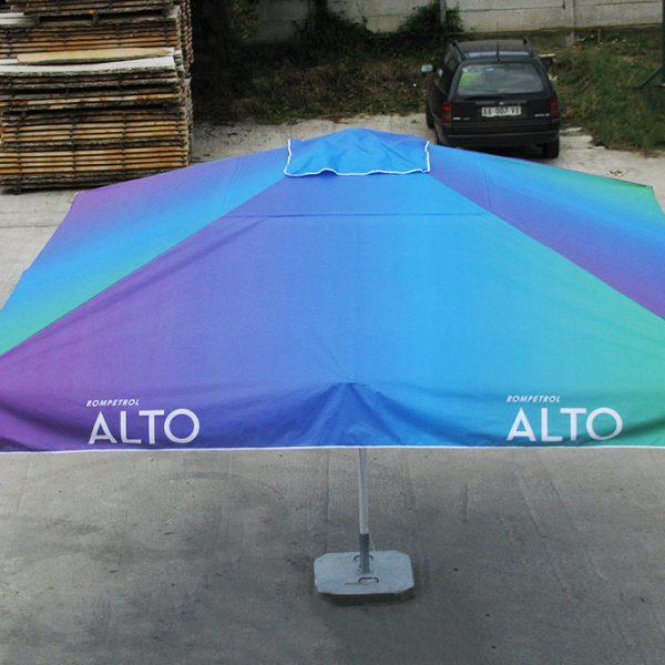 Umbrele personalizate pentru terase